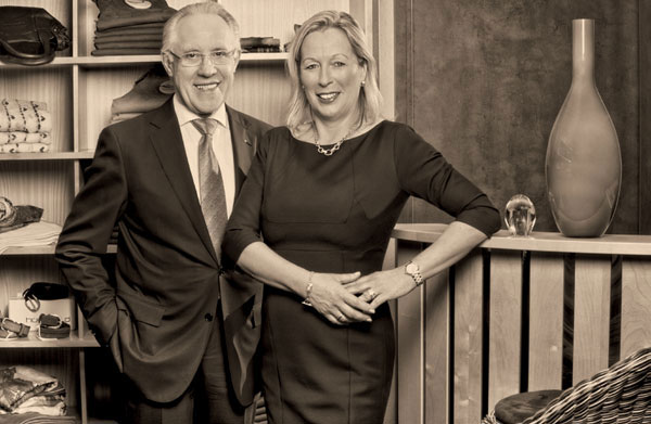 Wolfgang und Karine Siek